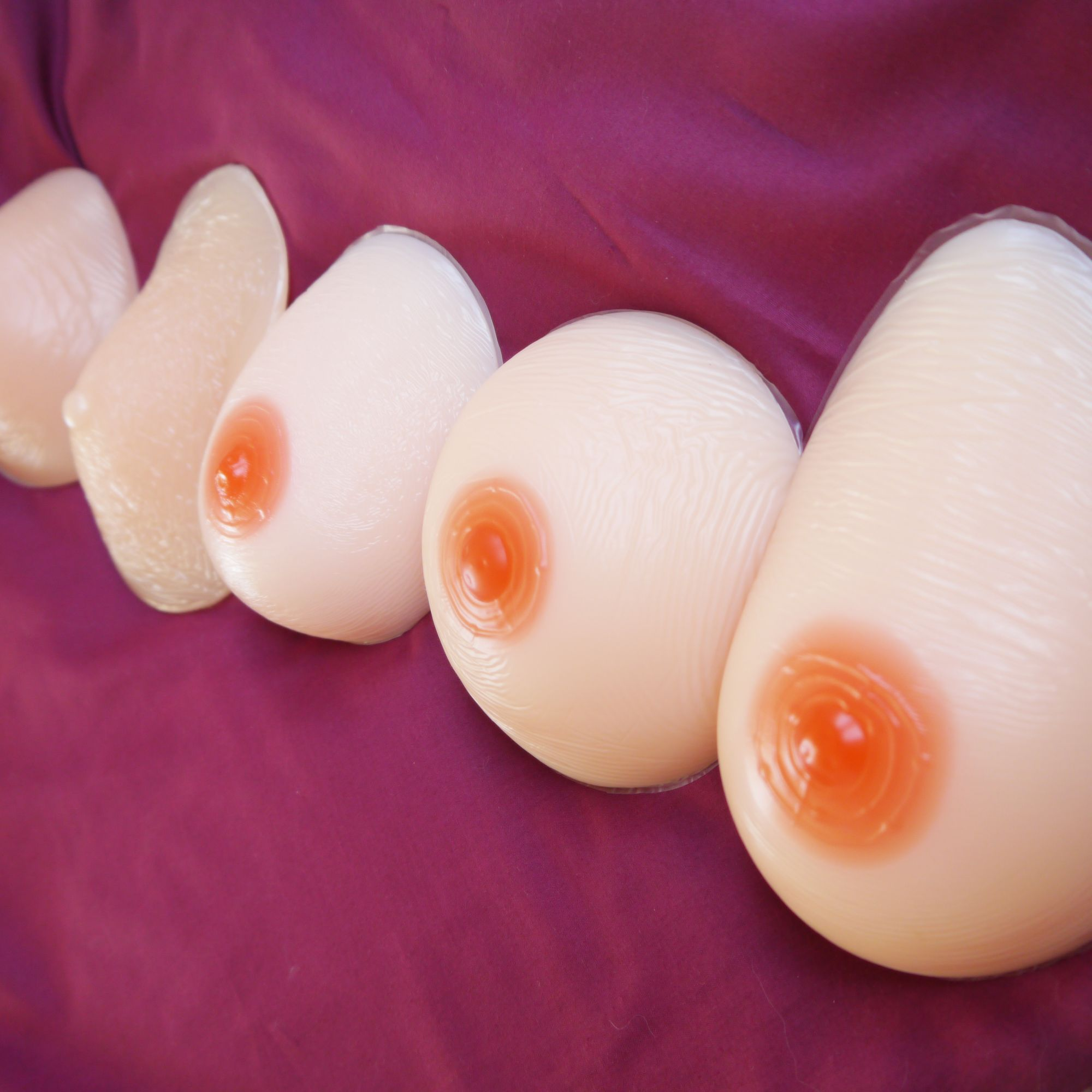 Full breast forms