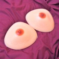 <!-- 004 -->Beautiful Silicone Breast Form Prostheses - Triangle 600g Pair