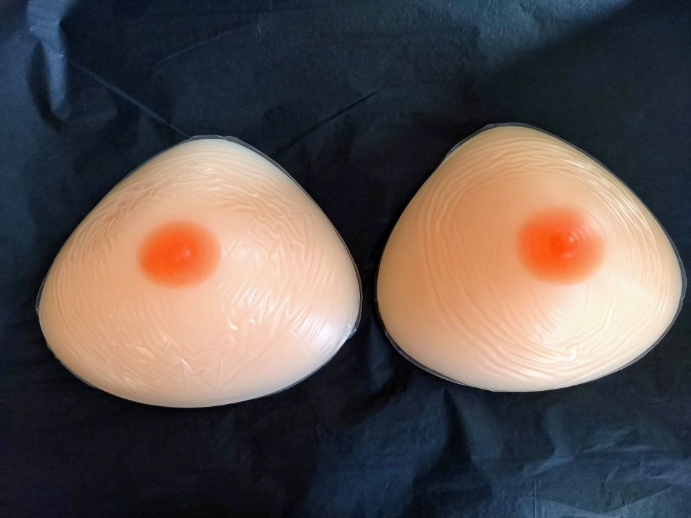 Triangle 400g/800g PAIR - Mark in one of the nipples