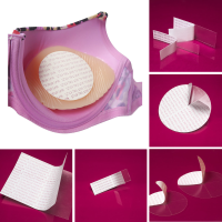 <!-- 000 -->Boobylicious Breast Enhancer & Breast Form Adhesive Tape Mixed Pack - Discs, Strips and Sheets