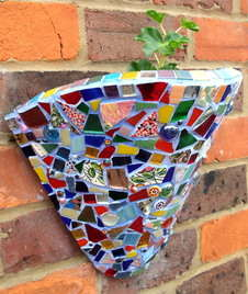 planter grouted
