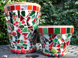 Christmas pots Oct