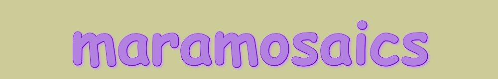 maramosaics, site logo.