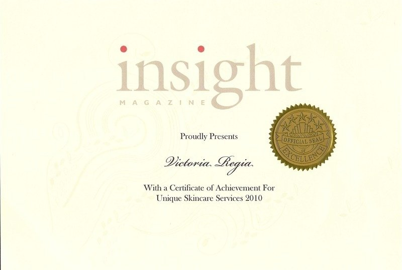 Insight certificate of achievement web