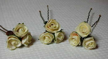Blossom Hair Pins - Set of 3