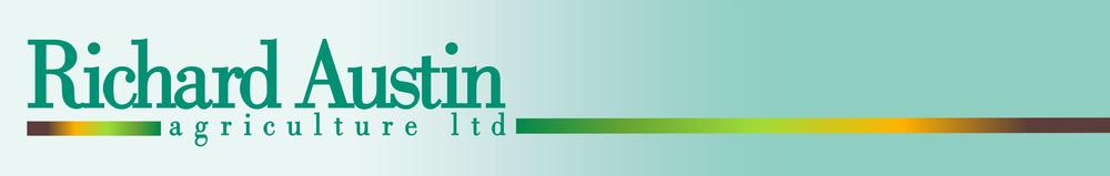 Richard Austin Agriculture, site logo.