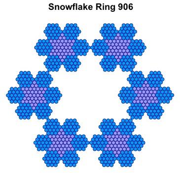 Snowflake Ring 906