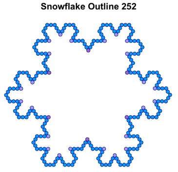 Snowflake Outline 252