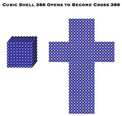 Cube and Cross 386