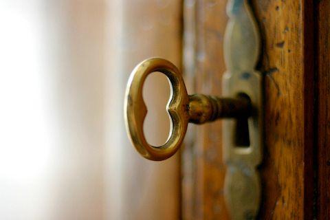 key-in-door