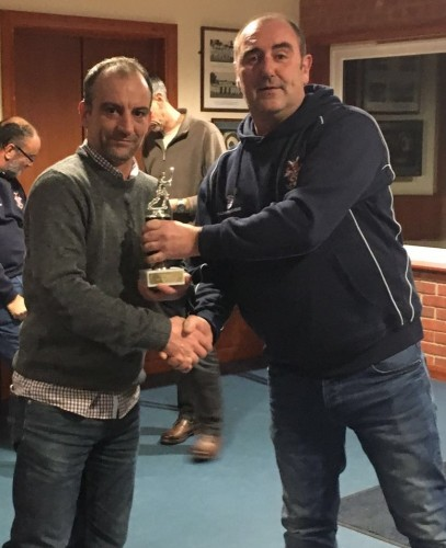 Chris McGovern - Captains Award 2015