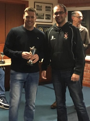 Jay Threlfall - Vice Captains Award 2015