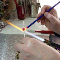 Make Glass Beads!