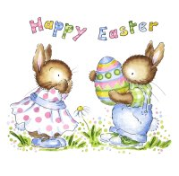 Easter cards - set of 12