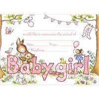 Baby girl arrival
