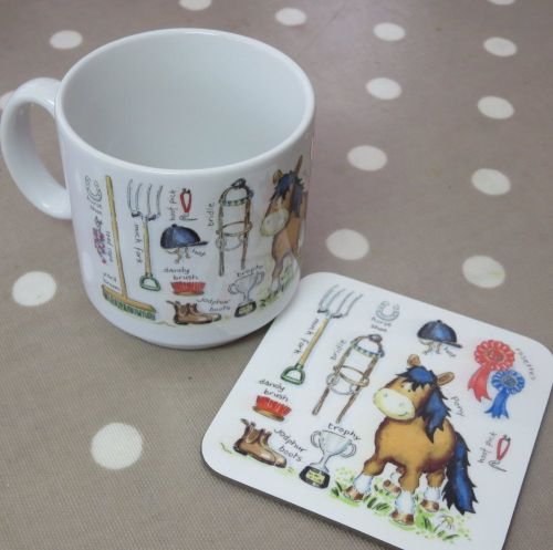 Pony things mug