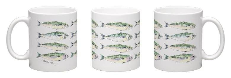 Mackerel mug