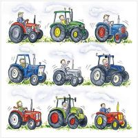 Nine Tractors