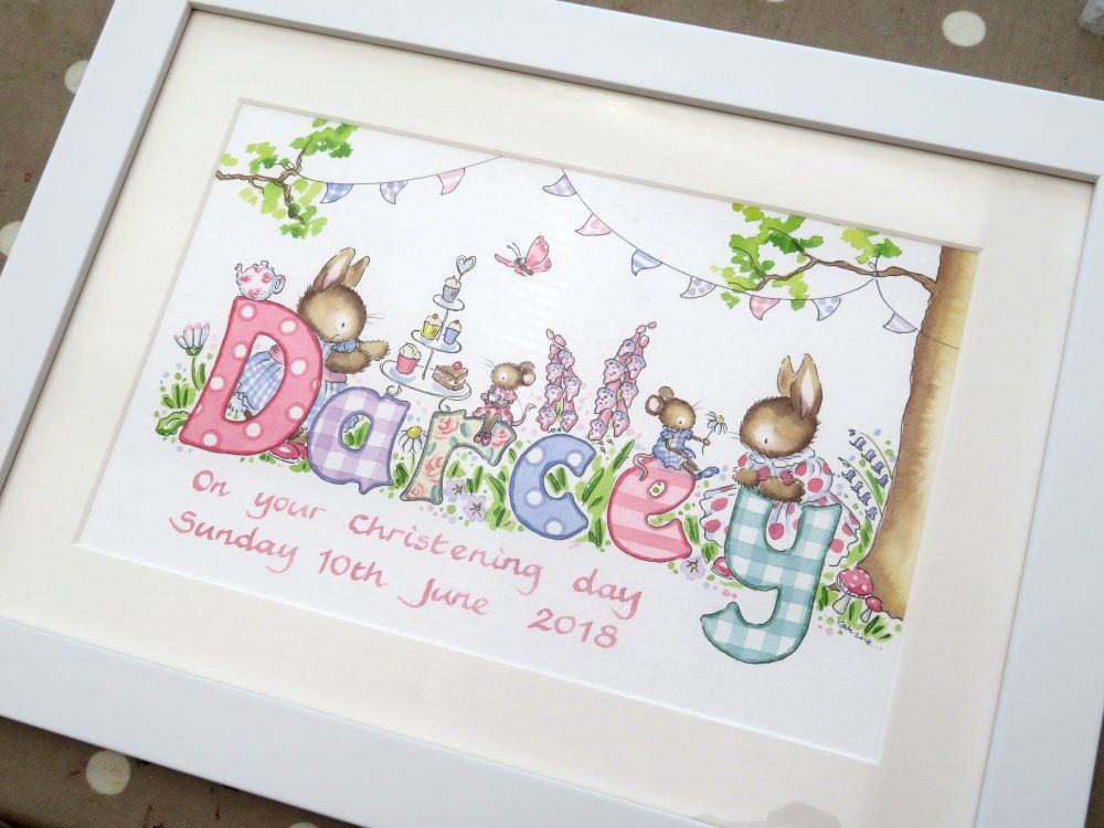 Darcey framed