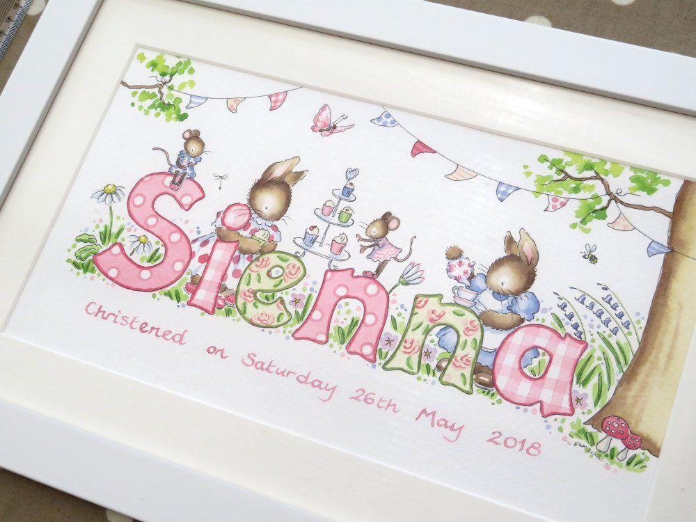 Sienna framed