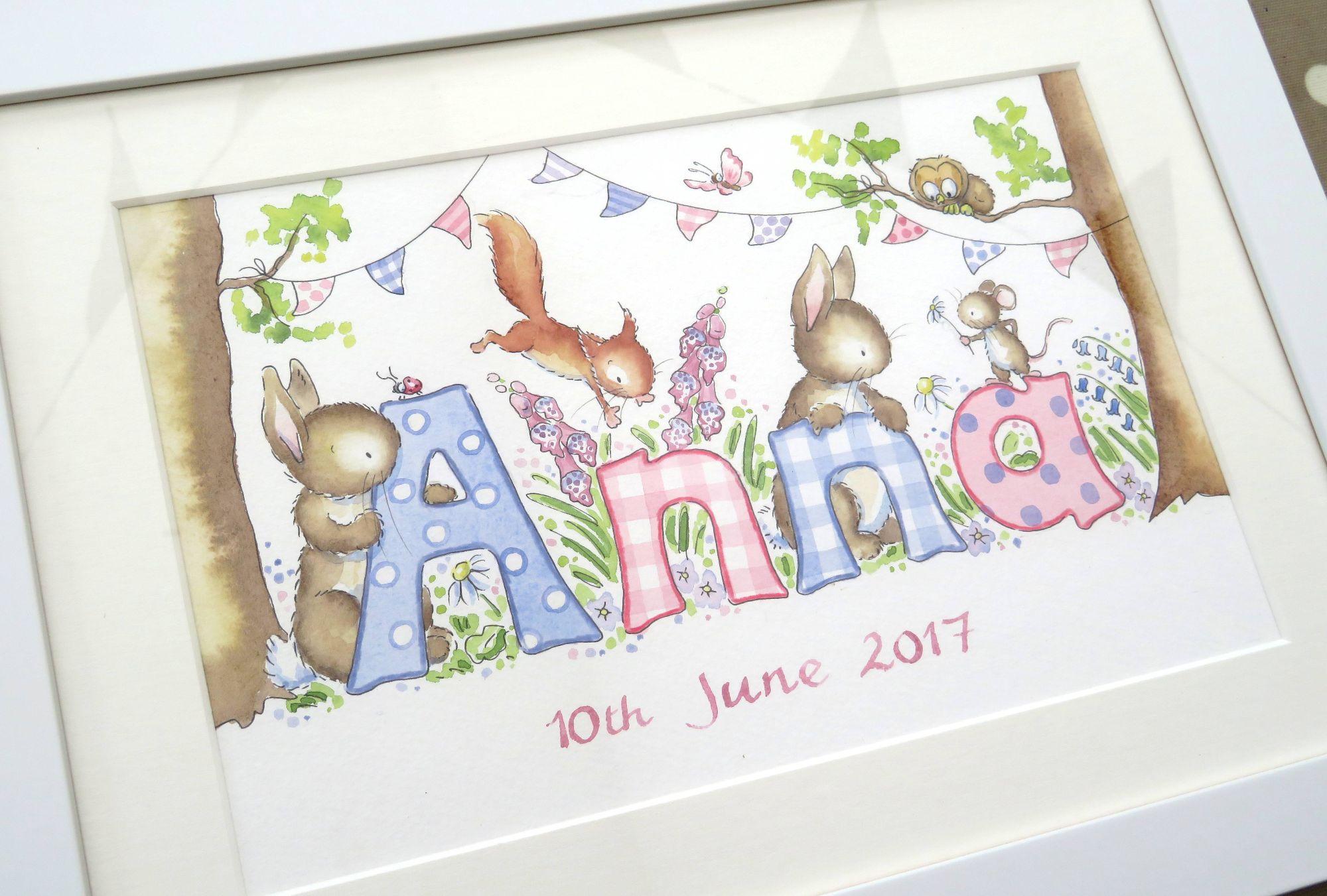 Anna framed dec17