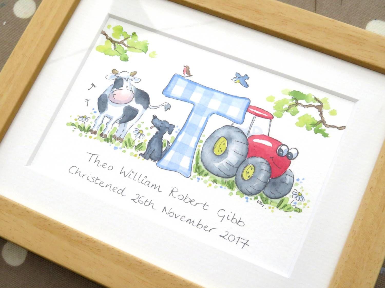 T for theo framed