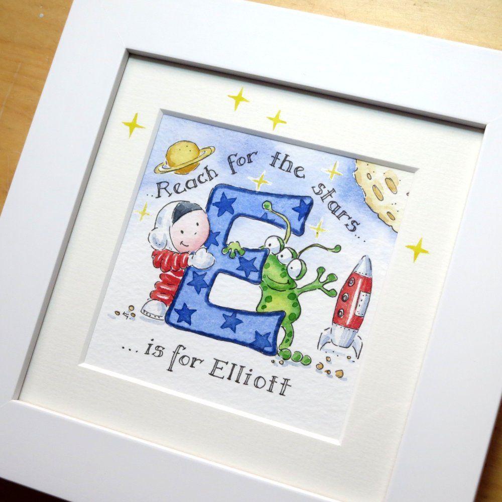 E for Elliot framed