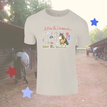 Pony stuff personalised Child's T-shirt