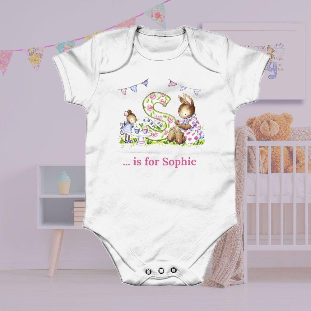 Personalised Baby gro