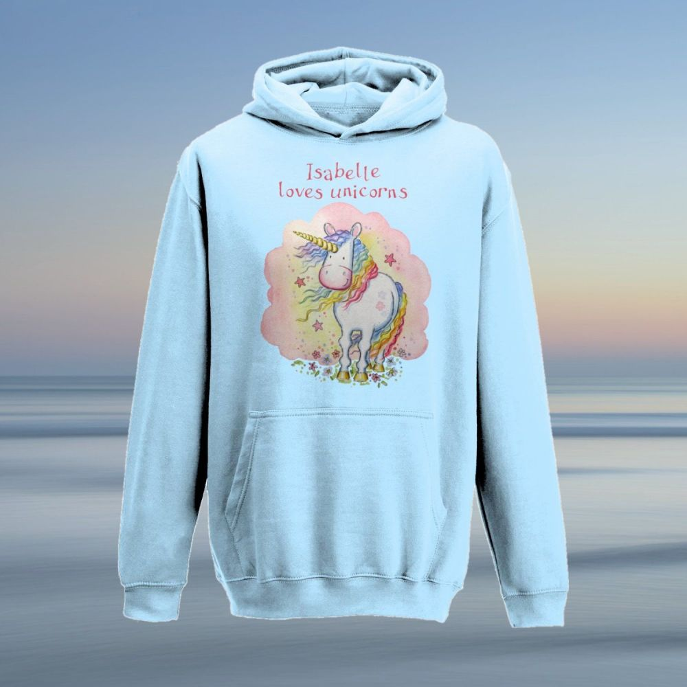 Unicorn child's hoodie