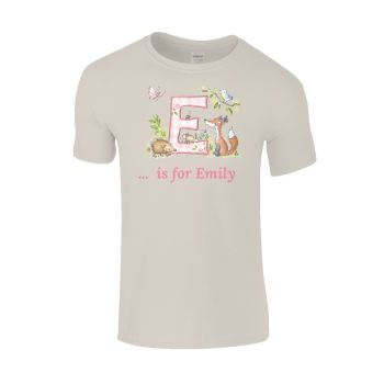 Personalised initial Child's T-shirt
