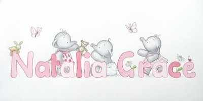 Natalia Grace name picture 20 by 10 inches