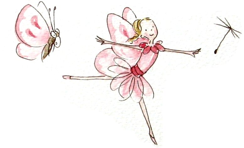 free fairy and butterfly
