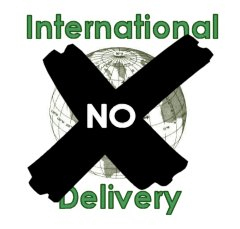 International delivery NO
