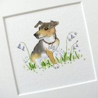 Mini Pet Portrait watercolour