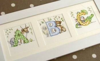ABC nursery watercolour