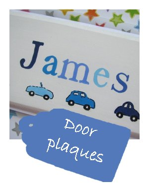 New front door plaques