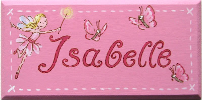 Isabelle Door Plaque