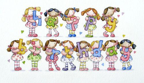 Happy Birthday Dolls