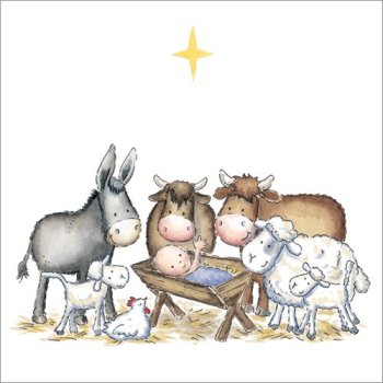 Nativity animals