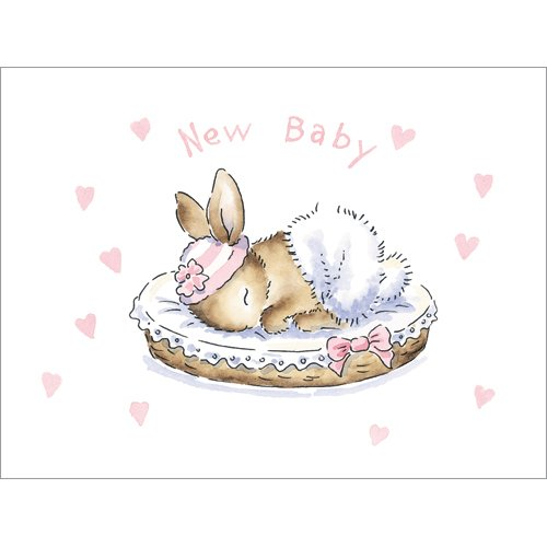 New Baby Bunny (pink)