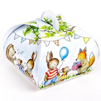 Little Woodland Animals Mini Boxes