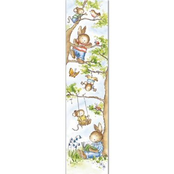 Little woodland animals bookmark