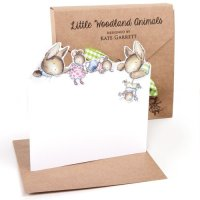 Little woodland animals notecards
