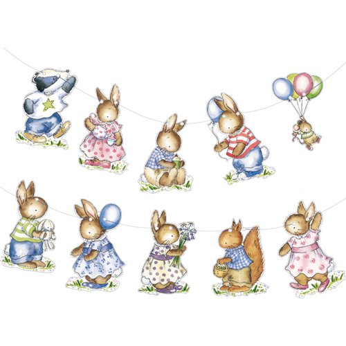 Little Woodland Animals bunting