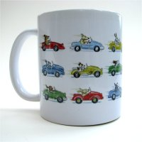 Driving Dogs mug