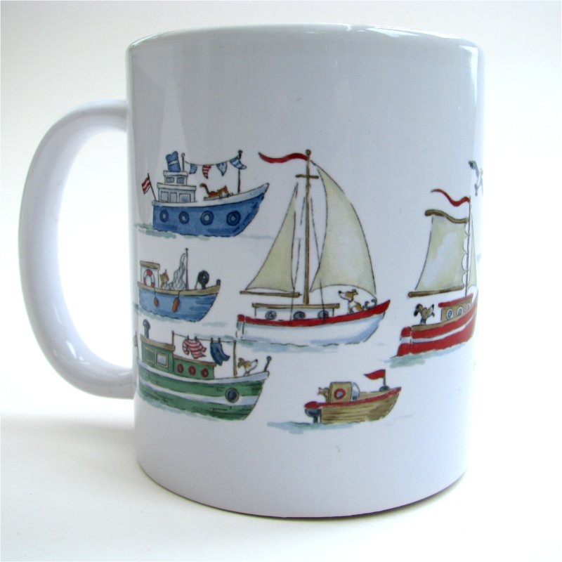Messing about in Boats Home mug