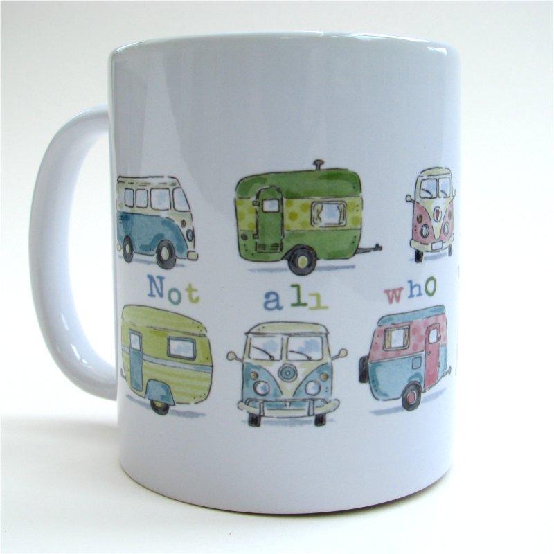 Camper vans mug