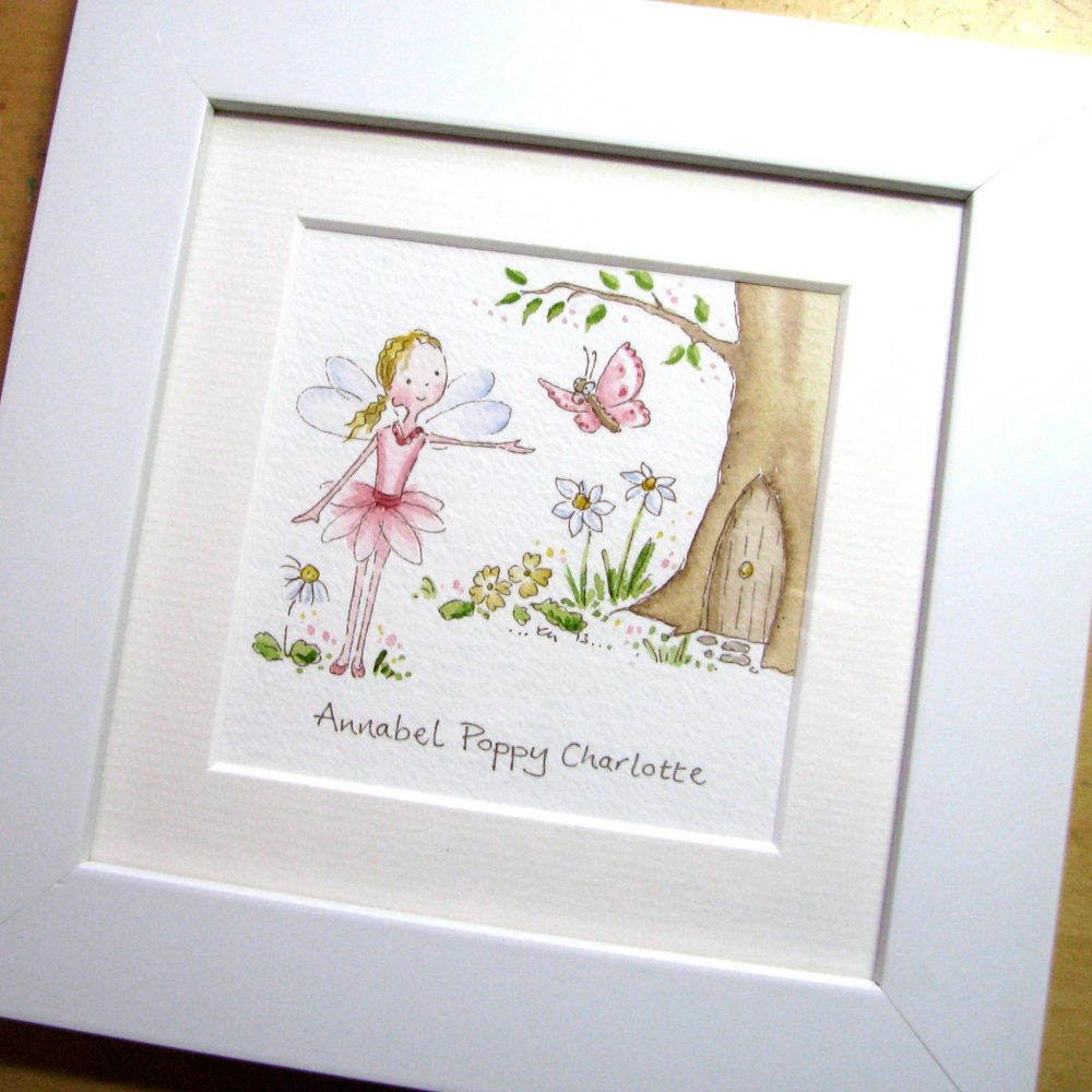 <!-- 010 -->Mini Fairy watercolour