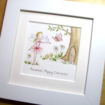 Mini Fairy watercolour